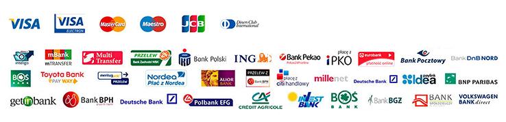 Szybkie płatności - Przelewy24